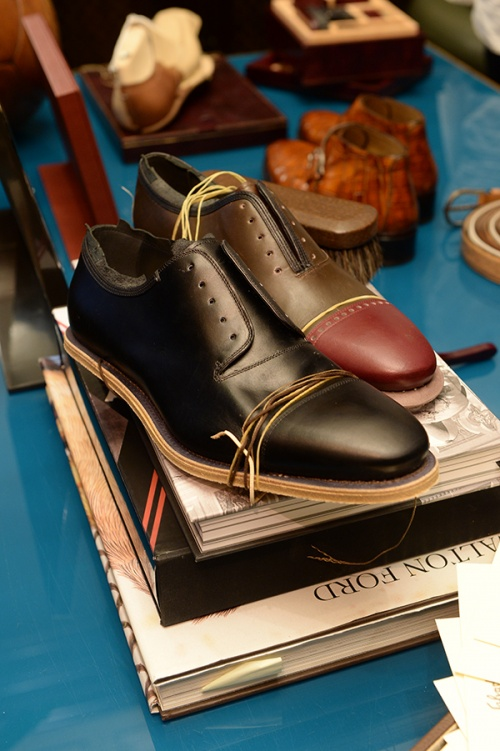 Customers can choose to customise the Oxford, the Double Monkstrap or the Monstrap Boot