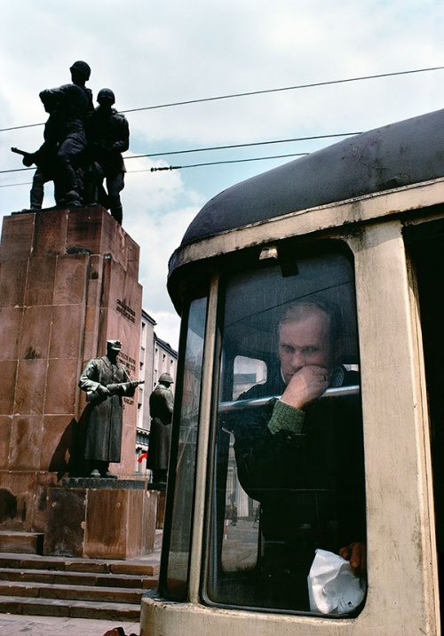 Bruno Barbey, 1981, Warsaw, Poland (Courtesy: SCoP)