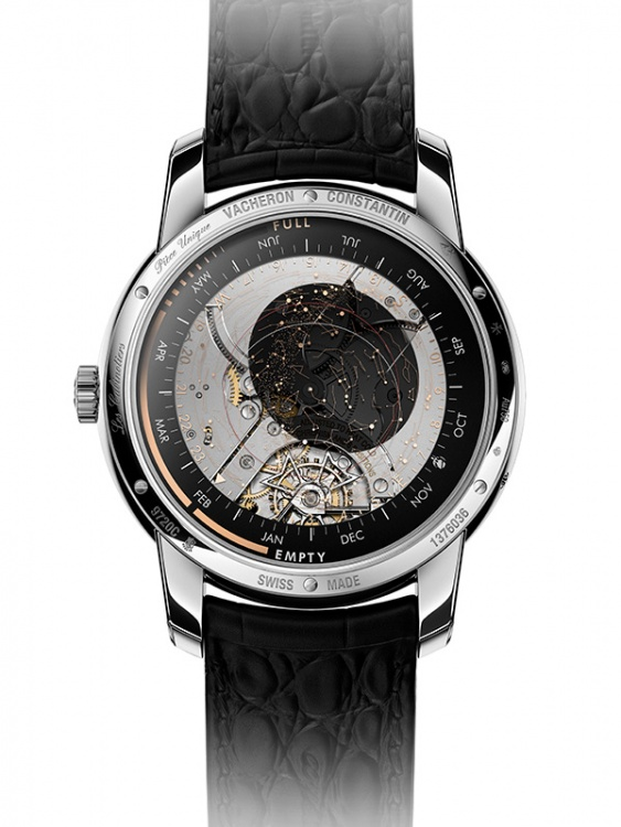 The back of the Celestia Astronomical Grand Complication 3600