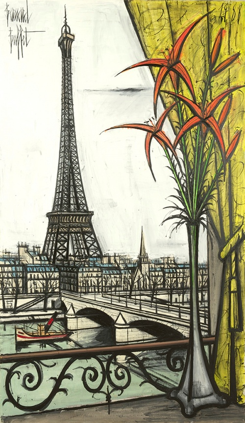 Troubled French Painter Bernard Buffet Is About to Undergo a Global ...