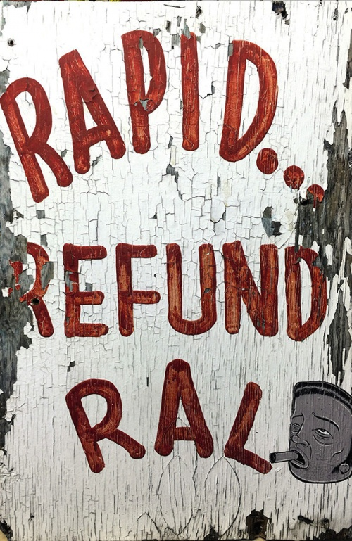 Rapid Refund Ral by Barry McGee