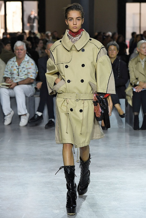 Trench coat by Sacai