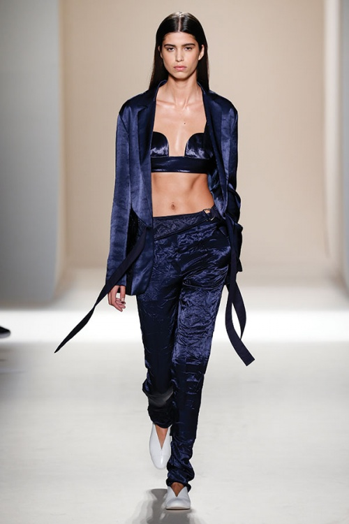 Bras, like this one from Victoria Beckham, are to be flaunted this year