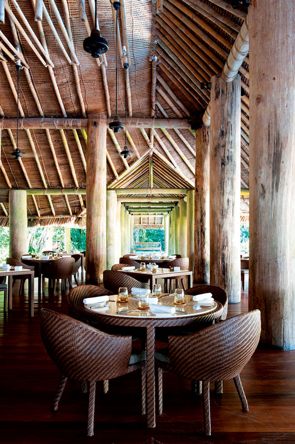 The Datai Langkawi brings elements of nature into their decor