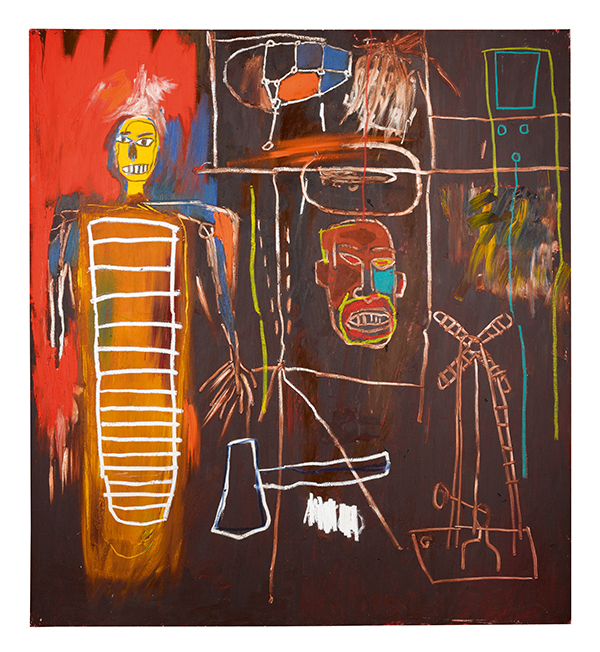 Air Power (1984) by Basquiat