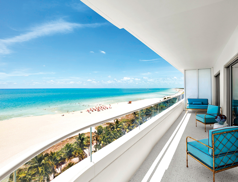 Film director Baz Luhrmann and costume designer Catherine Martin were enlisted to do The Faena Hotel Miami Beach