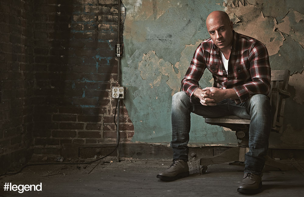 Shirt by Saint Laurent, jeans by Cult of Individuality, t-shirt by Michael Stars. Boots by Porsche Design