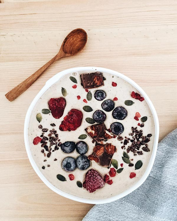 Holt's smoothie bowl creations
