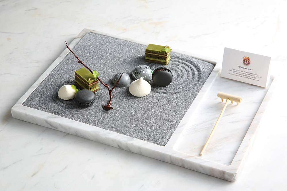 Tate Dining Room and Bar Chef Vicky Lau's Zen Garden shows off the former graphic designer's painterly approach to food