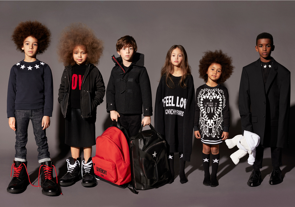 The new children's collection from Givenchy