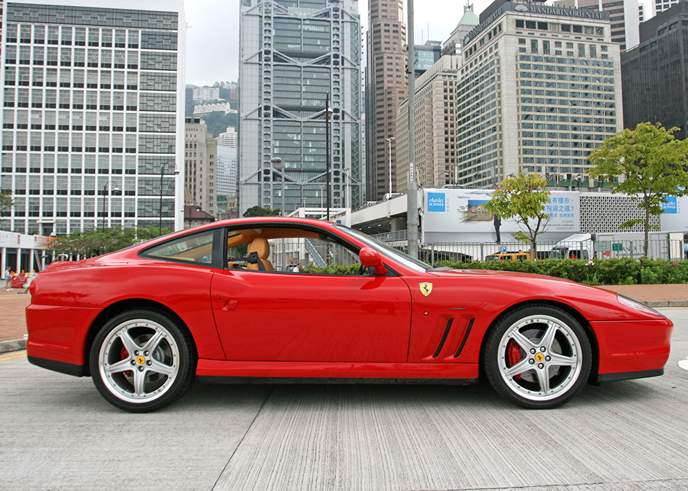 Lot 108 2003 Ferrari 575M F1 by Pininfarina