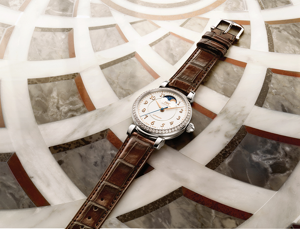 The new IWC Da Vinci timepiece debuted at SIHH