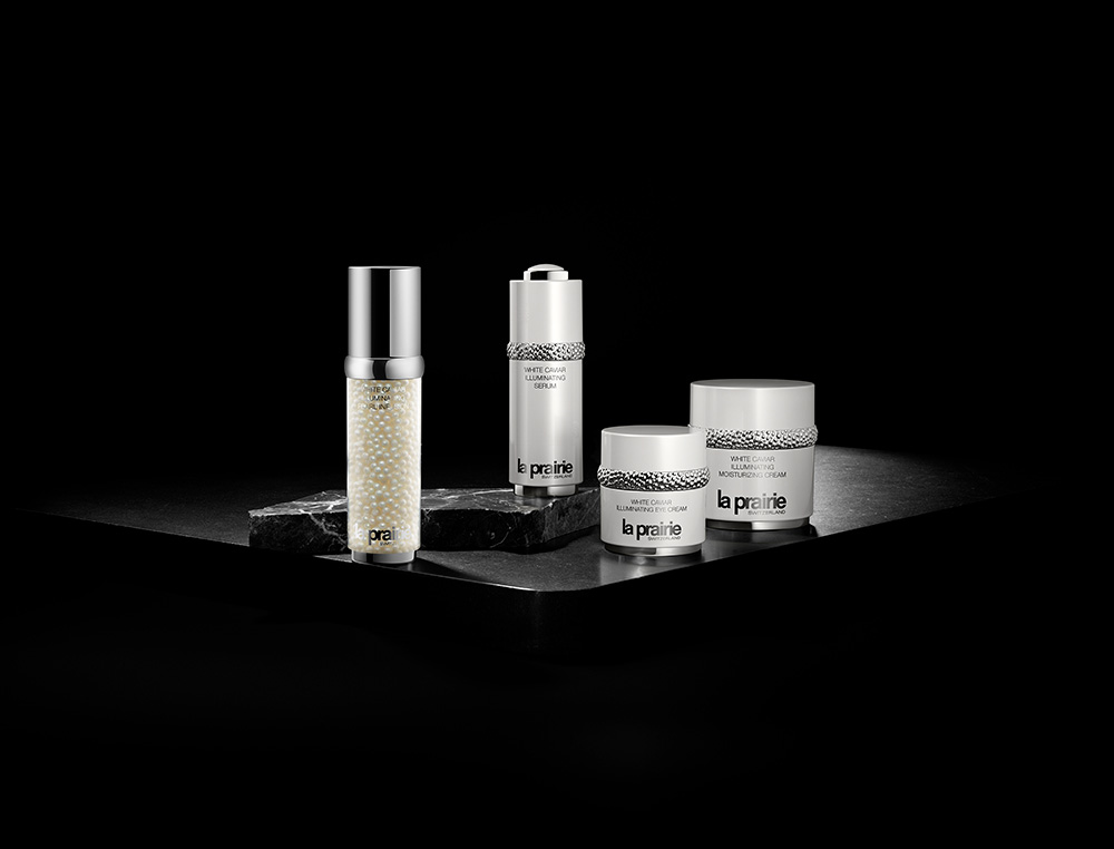 The complete line of White Caviar products