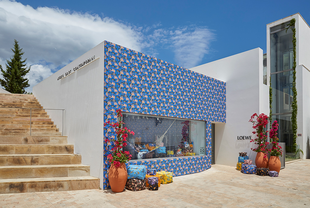 Loewe's pop up in Ibiza
