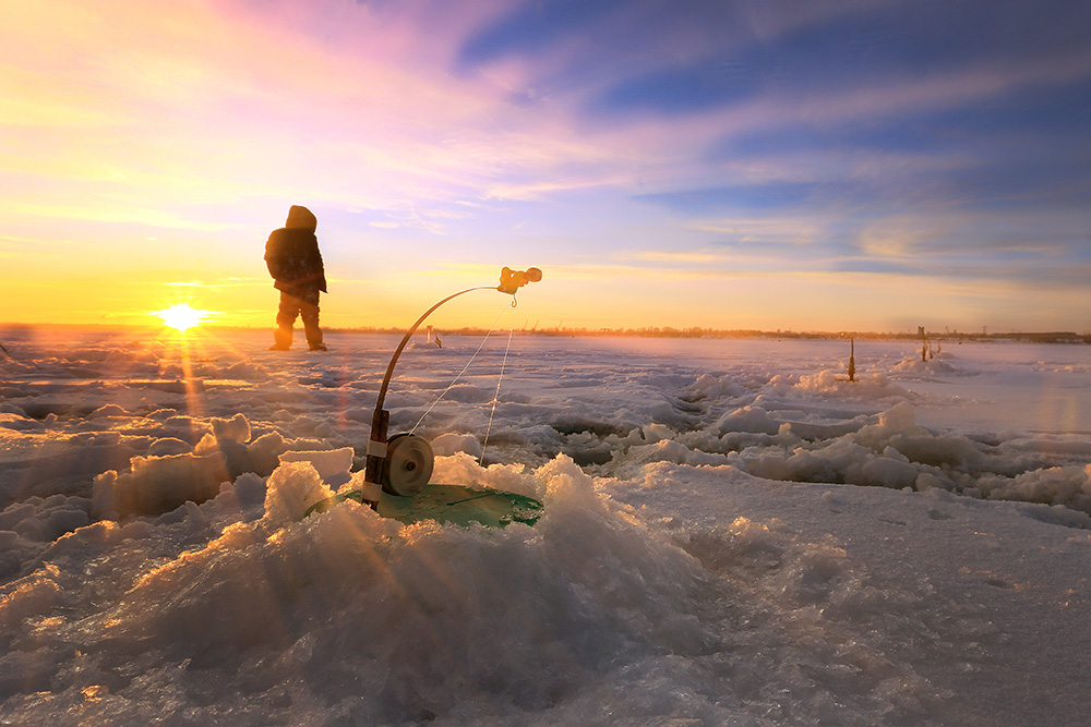Ice fishing and ice climbing are some of the things you can do on your trip