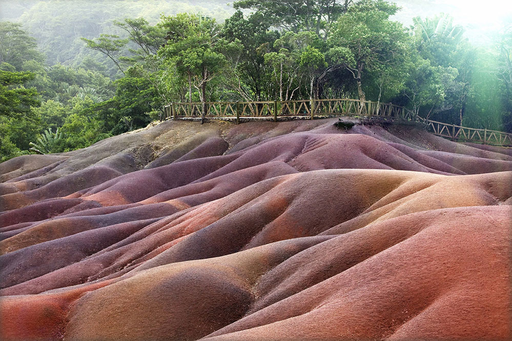 The Seven Colored Earths, near Chamarel (Credit: Sara Berdon/ istock.com)