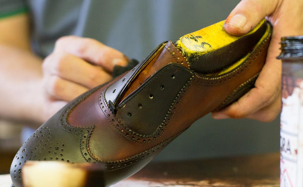 Bespoke brogues from Lottusse