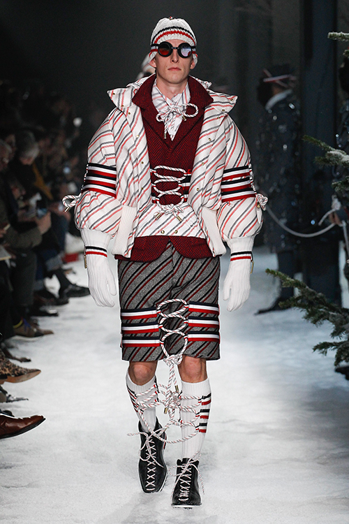 Runway look from Moncler autumn/winter 2017