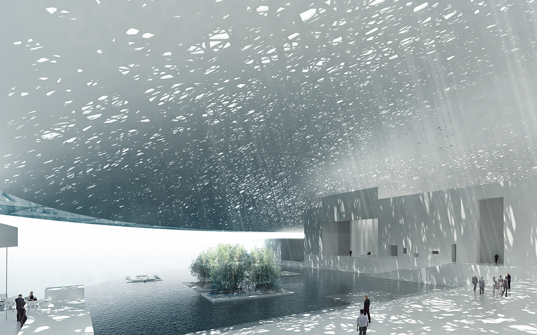 Louvre, Abu Dhabi (Credit: TDIC, Design: Ateliers Jean Nouvel)