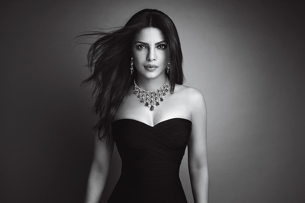 Big-time Bollywood actress Priyanka Chopra is also signed on to be the face of Nirav Modi