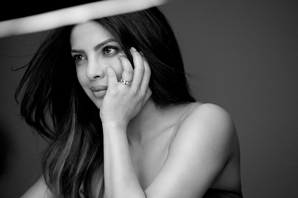 Behind the scenes with Priyanka Chopra