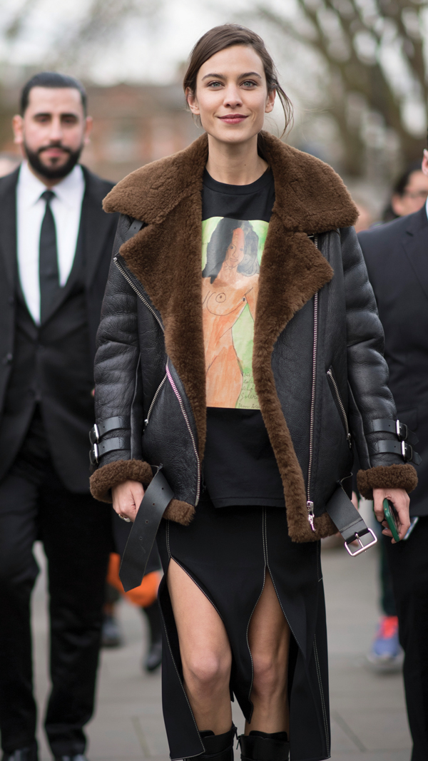 Style-icon and entrepreneur Alexa Chung (Getty Images)