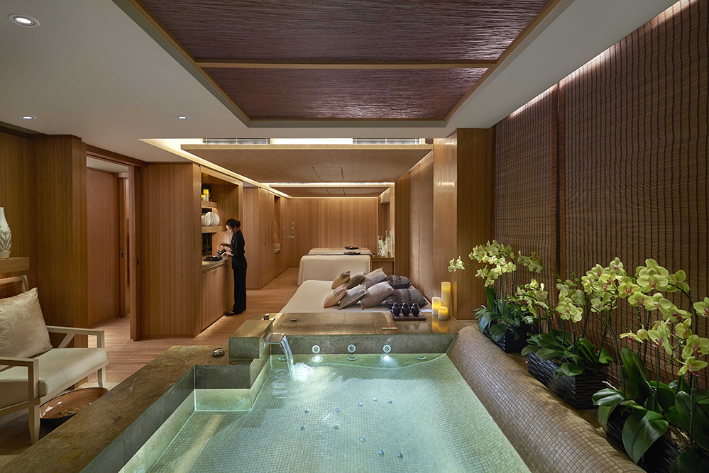 The Sanctuary Suite at the Oriental Spa