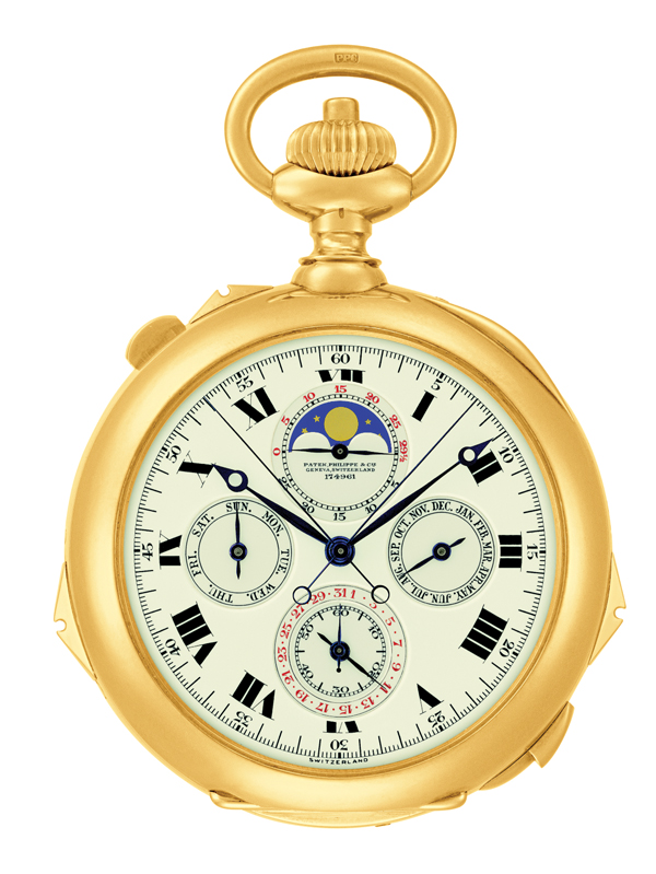 Henry Graves Jr's 1919 Grande Complication pocket watch