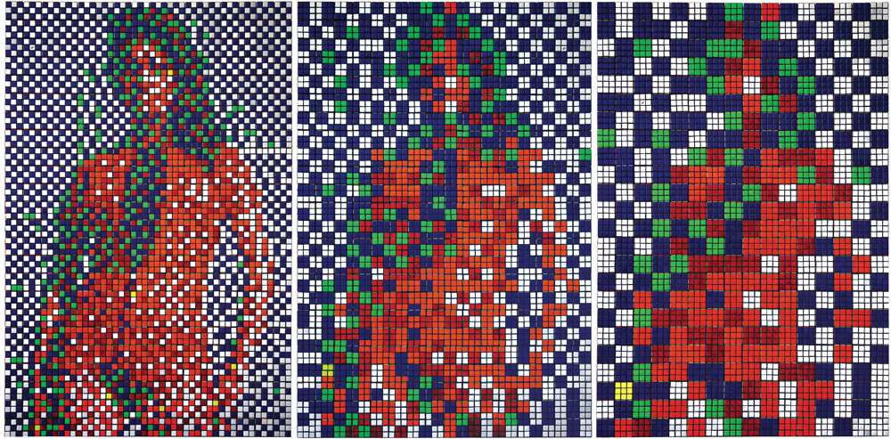 Invader, Rubik James Bond Girl (2008)