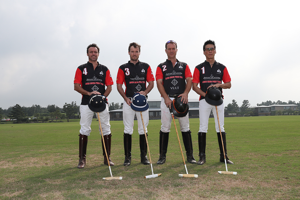 The team: Patrick Furlong, James Bean, Russell Tyre and Kwan Lo