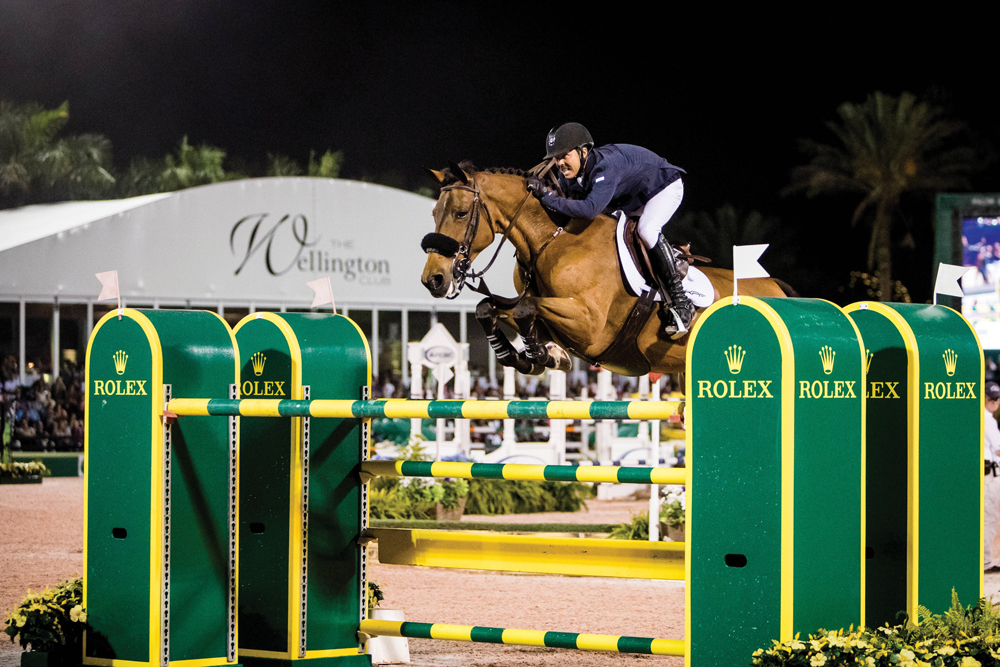 Equestrian Kent Farrington Goes for Gold with Rolex ...