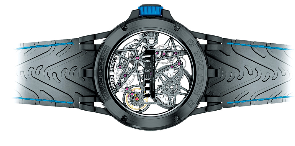 The Excalibur Spider Pirelli—Double Flying Tourbillon