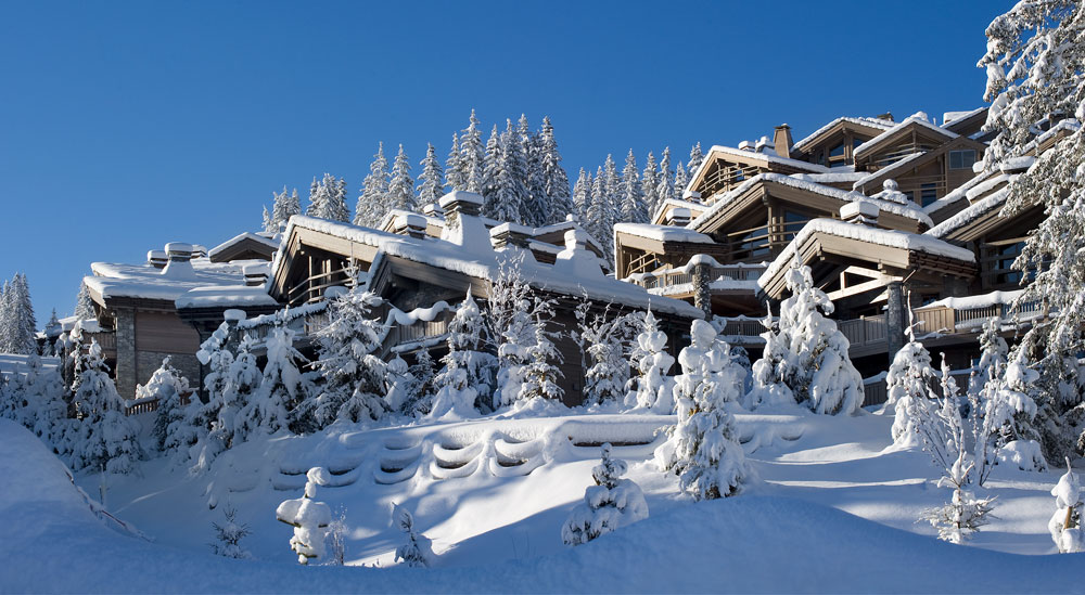 Courchevel is one of the world's most luxurious resort towns