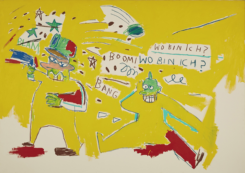 Infantry by Jean Michel-Basquiat (Courtesy: Sotheby's Hong Kong)
