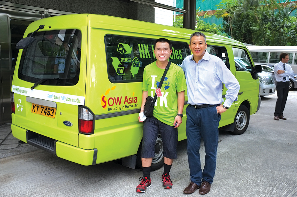 Waste management firm HK Recycles is a promising business