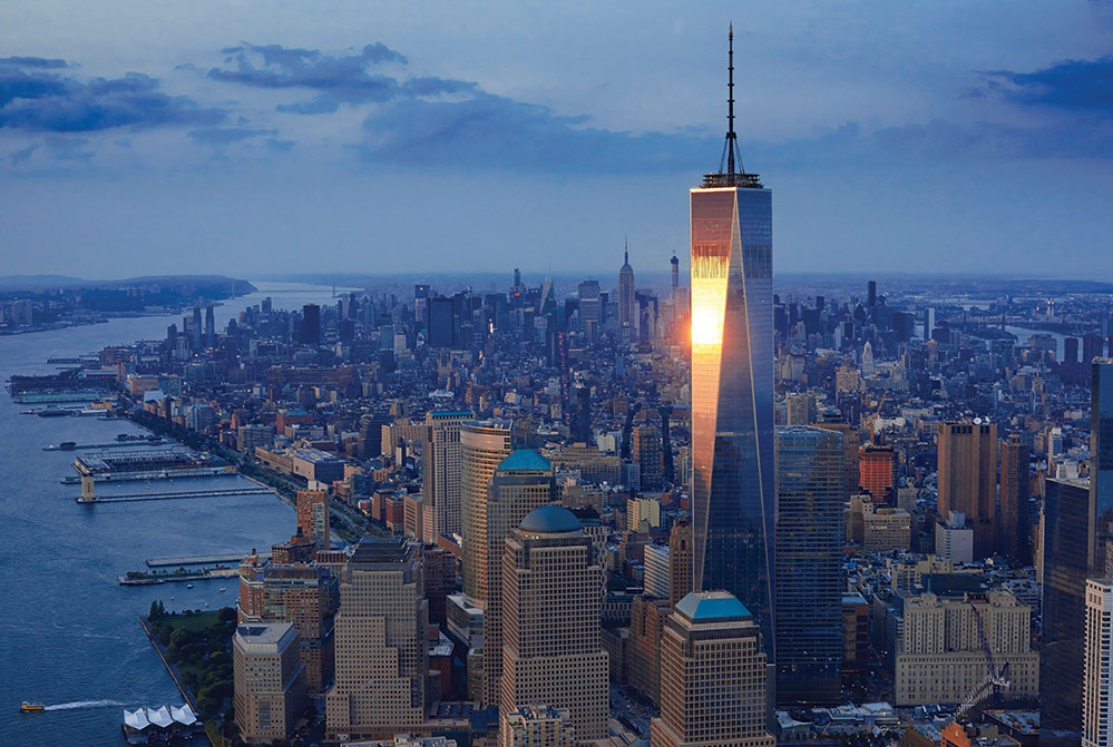 Chai's favourite city, New York (Credit: Corbis/ ImagineChina)