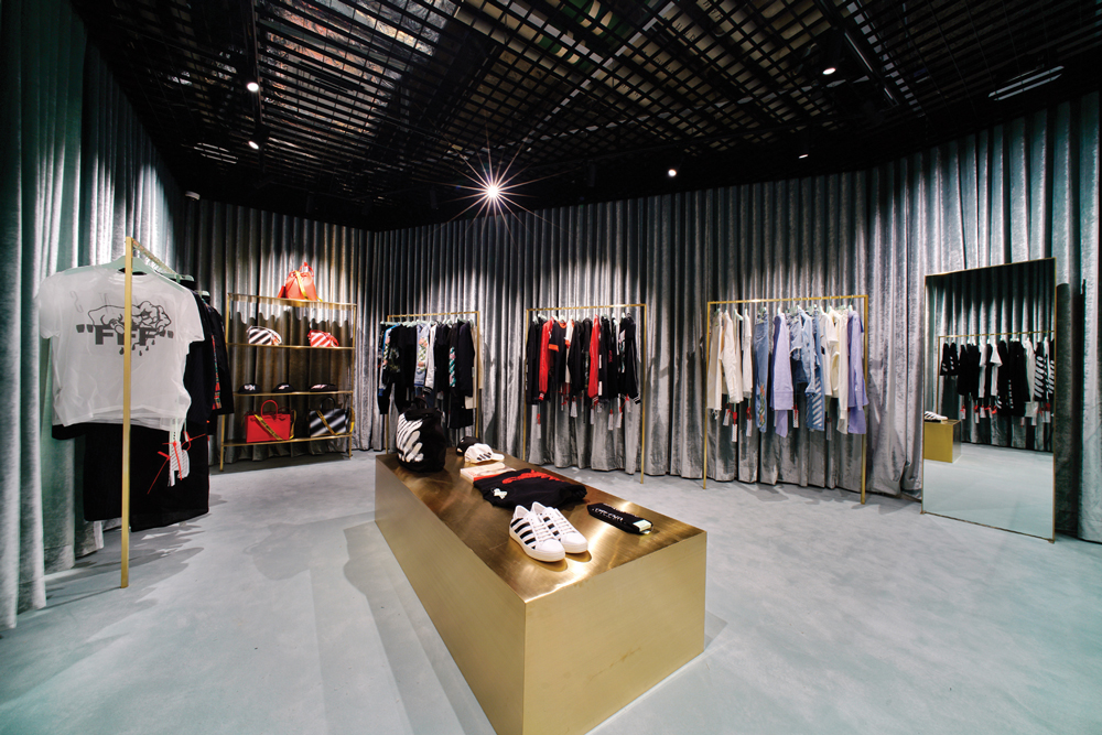 The brand's newly opened store at 9 Queen's Road, Central in Hong Kong