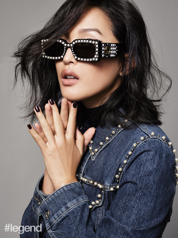 Jacket by Miu Miu at NET-A-PORTER, Sunglasses by Gucci at NET-A-PORTER