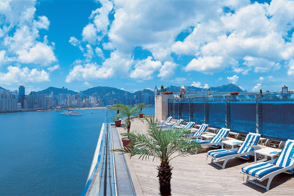 Make a day out of it and discover Hung Hom before watching the sunset at the pool deck.