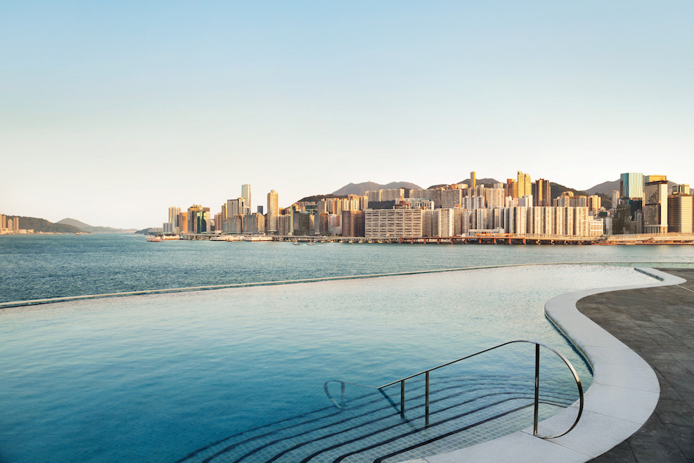 hotel outdoor pool. Kerry Hotel\u0027s Gorgeous Infinity Pool Takes Hong Kong\u0027s Game To New Levels. Hotel Outdoor
