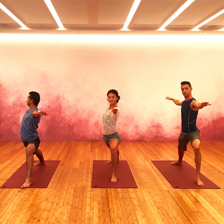 Step up your #fitspo cred with Pure Yoga's Insta-worthy wall murals.