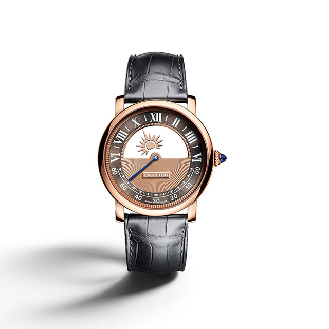 The Rotonde de Cartier Mysterious Day & Night watch