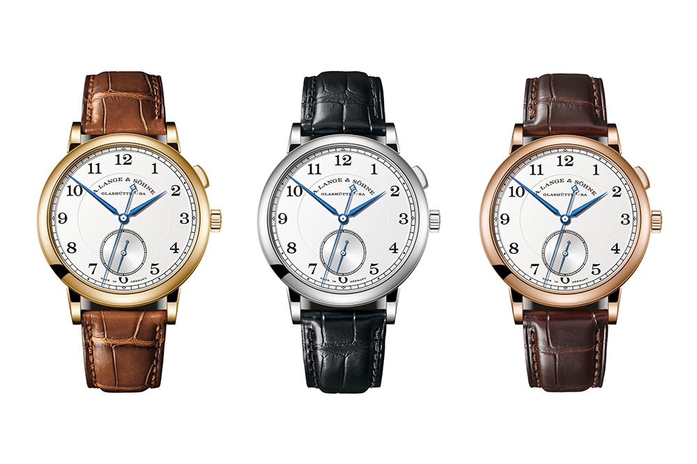 The three editions of A. Lange & Söhne's 1815