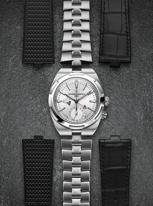 Vacheron Constantin Overseas Dual Time in stainless steel