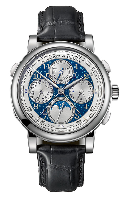 Only 20 pieces of the A. Lange & Söhne 1815 Rattrapante Perpetual Calendar Handwerkskunst  will be made