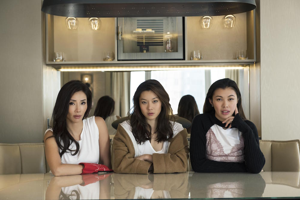 Denise Yeung, Stephanie Au and Kayla Wong at LMO's The Apartment Suite