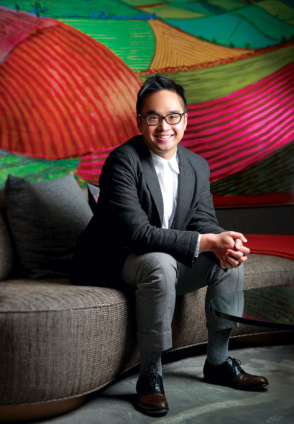 Adrian Cheng is a man for big ideas