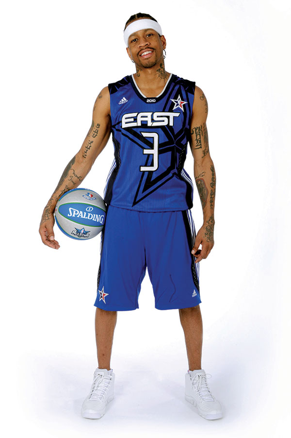 Allen Iverson ahead of the 2010 All-Star Game (Credit: Getty Images)