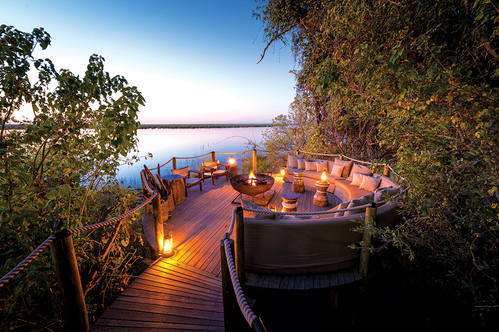 The safari-chic accommodations