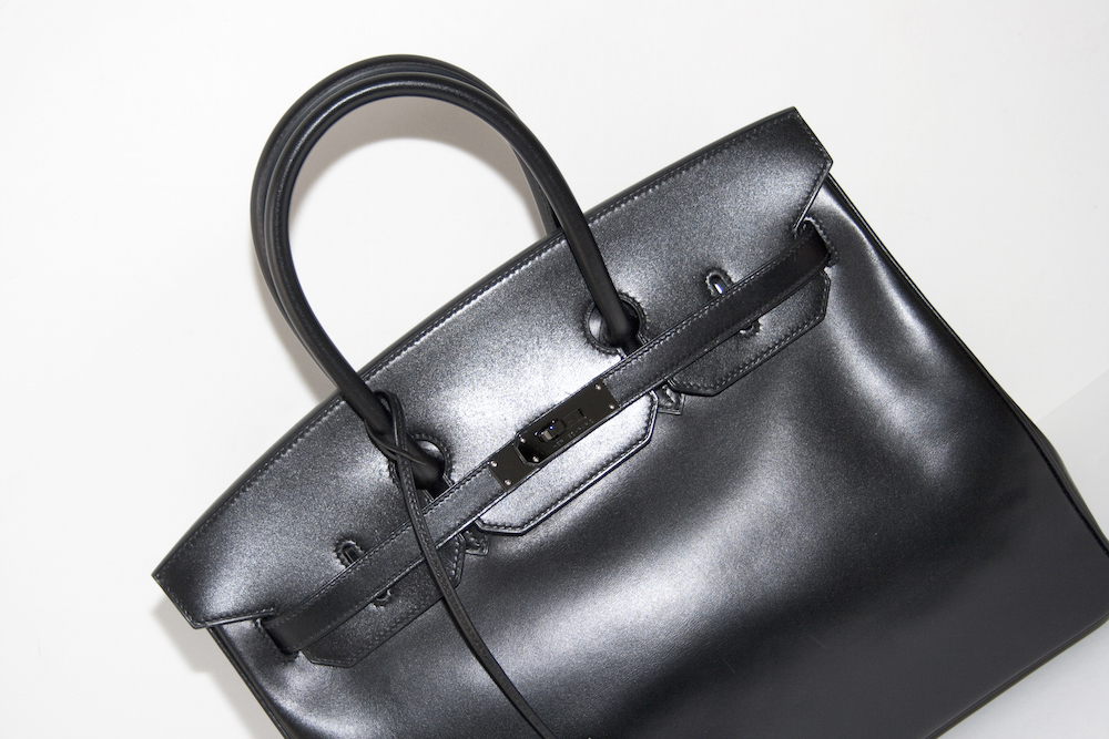 The So Black Hermès Birkin in Box leather – No longer just for girls.